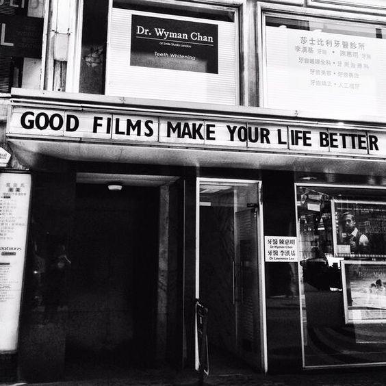 good movies make life better